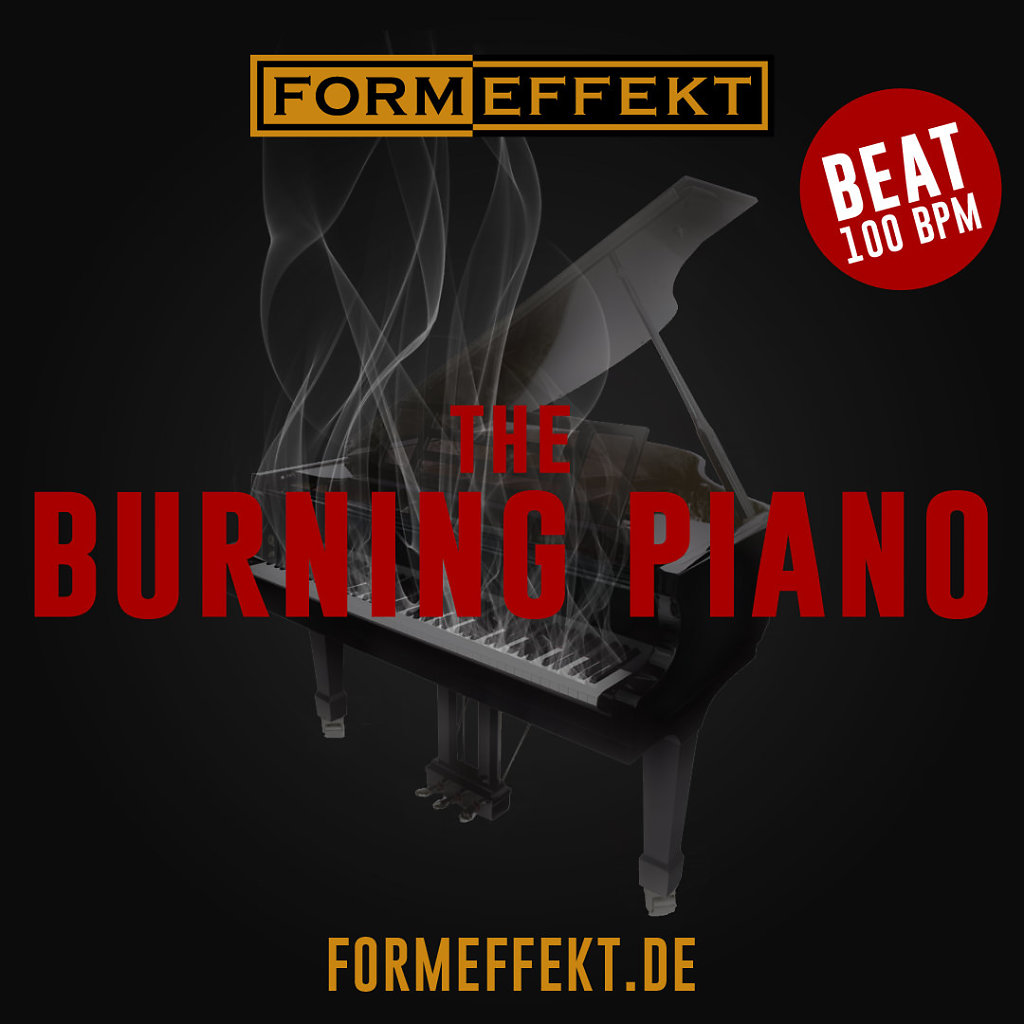 Cover - The Burning Piano